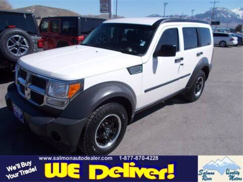 2008 Dodge Nitro for sale at QUALITY MOTORS in Salmon ID