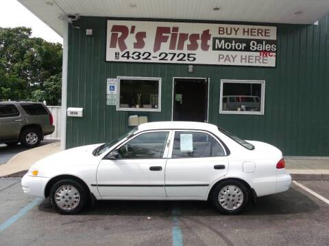 1998 Toyota Corolla for sale at R's First Motor Sales Inc in Cambridge OH