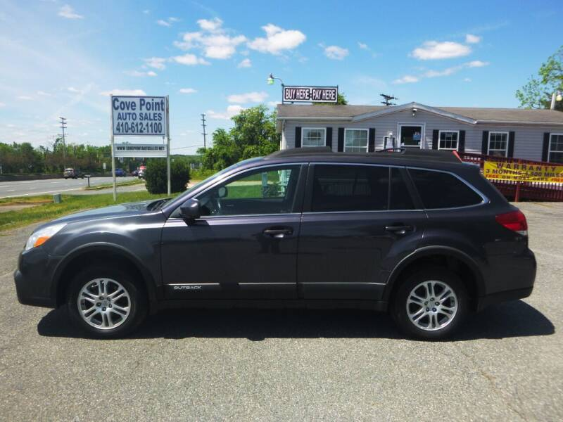 2013 Subaru Outback for sale at Cove Point Auto Sales in Joppa MD