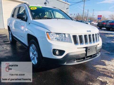 2011 Jeep Compass for sale at Transportation Center Of Western New York in Niagara Falls NY