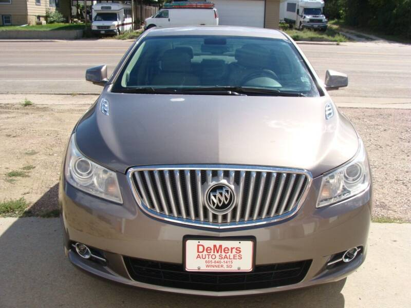 2011 Buick LaCrosse for sale at DeMers Auto Sales in Winner SD