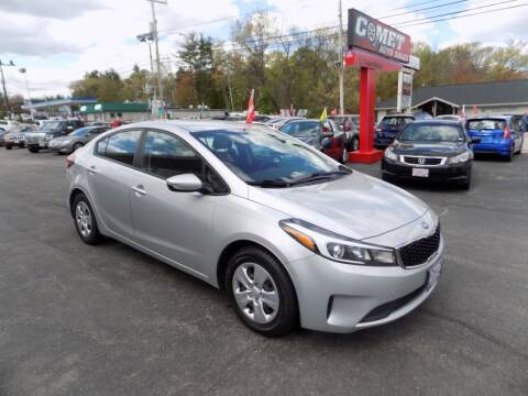 2017 Kia Forte for sale at Comet Auto Sales in Manchester NH