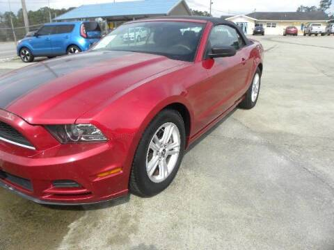 2013 Ford Mustang for sale at VANN'S AUTO MART in Jesup GA