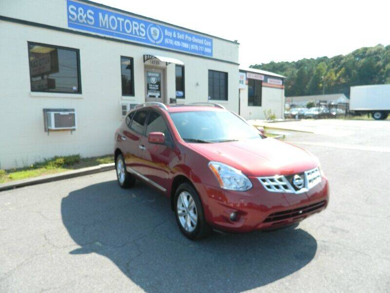 2013 Nissan Rogue for sale at S & S Motors in Marietta GA