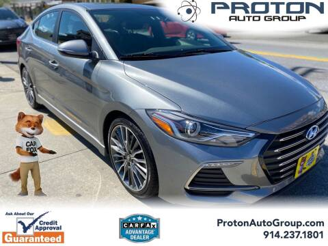2018 Hyundai Elantra for sale at Proton Auto Group in Yonkers NY