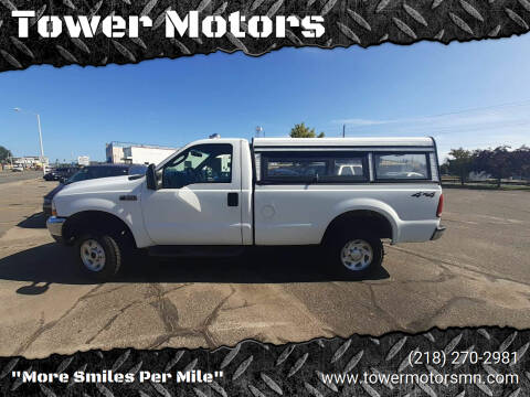 2003 Ford F-250 Super Duty for sale at Tower Motors in Brainerd MN