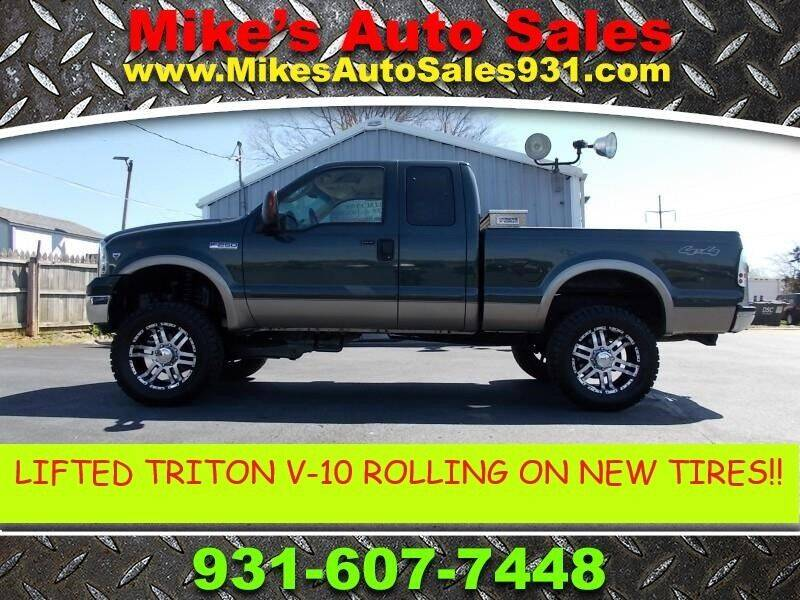 2006 Ford F-250 Super Duty for sale at Mike's Auto Sales in Shelbyville TN