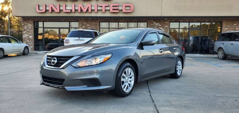 2018 Nissan Altima for sale at WHOLESALE AUTO GROUP in Mobile AL