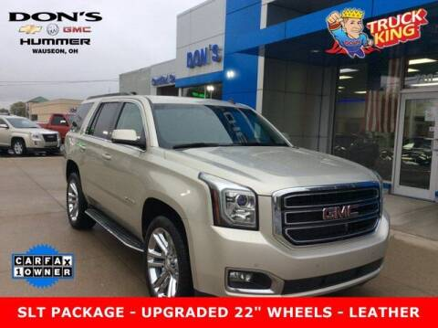 2015 GMC Yukon for sale at DON'S CHEVY, BUICK-GMC & CADILLAC in Wauseon OH