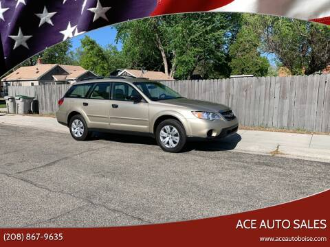 2008 Subaru Outback for sale at Ace Auto Sales in Boise ID