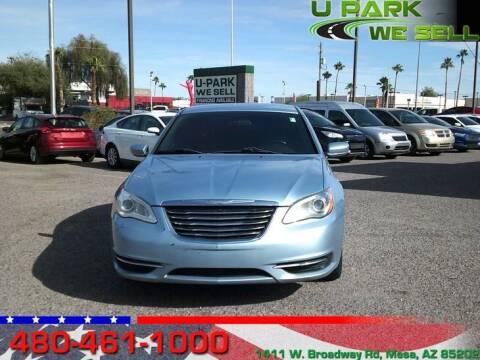 2014 Chrysler 200 for sale at UPARK WE SELL AZ in Mesa AZ