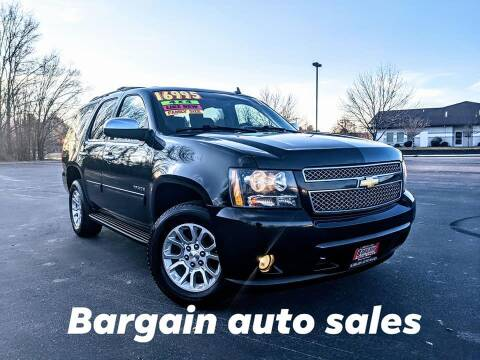 2013 Chevrolet Tahoe for sale at Bargain Auto Sales in Garden City ID