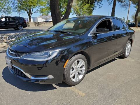 2015 Chrysler 200 for sale at Matador Motors in Sacramento CA