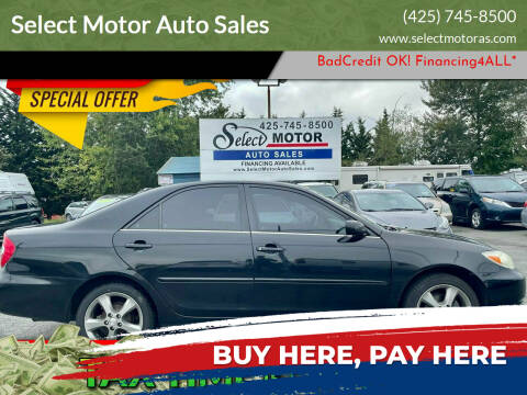2002 Toyota Camry for sale at Select Motor Auto Sales in Lynnwood WA