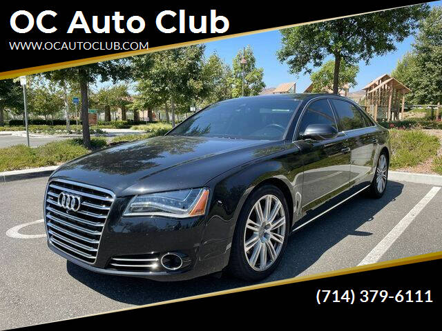 2014 Audi A8 L for sale at OC Auto Club in Midway City CA