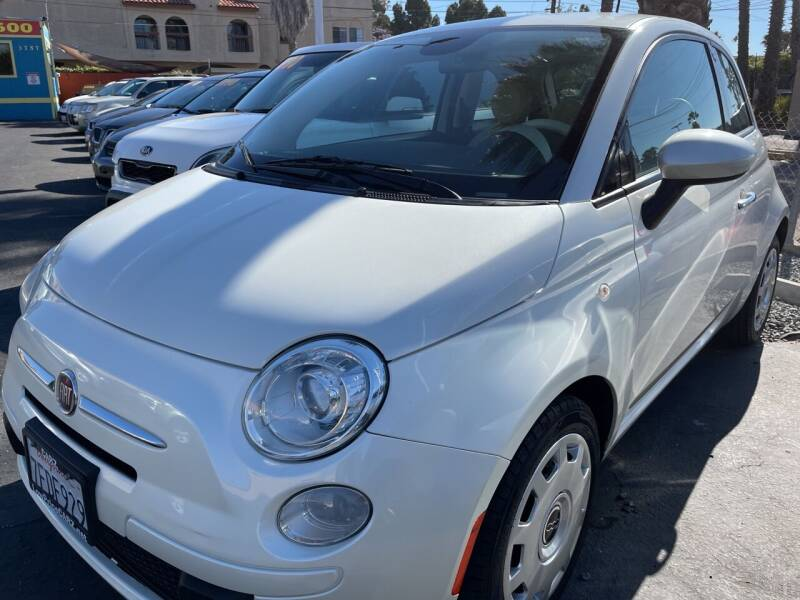 2015 FIAT 500 for sale at CARZ in San Diego CA