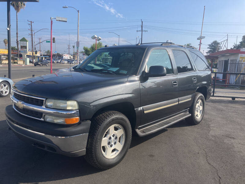 2004 Chevrolet Tahoe for sale at Pacific West Imports in Los Angeles CA