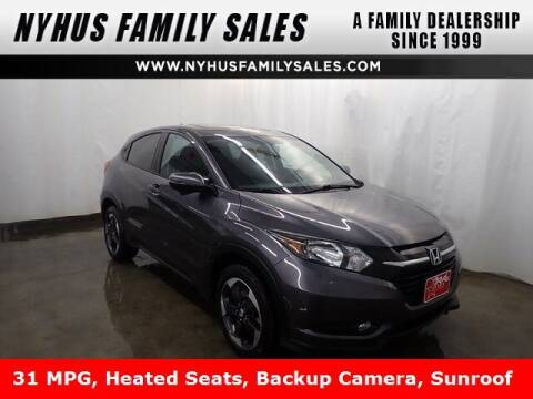 2018 Honda HR-V for sale at Nyhus Family Sales in Perham MN