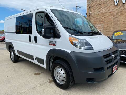 2018 RAM ProMaster Cargo for sale at Windy City Motors in Chicago IL