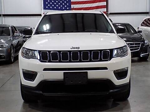 2018 Jeep Compass for sale at Texas Motor Sport in Houston TX