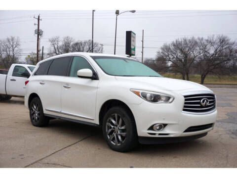 2013 Infiniti JX35 for sale at Sand Springs Auto Source in Sand Springs OK