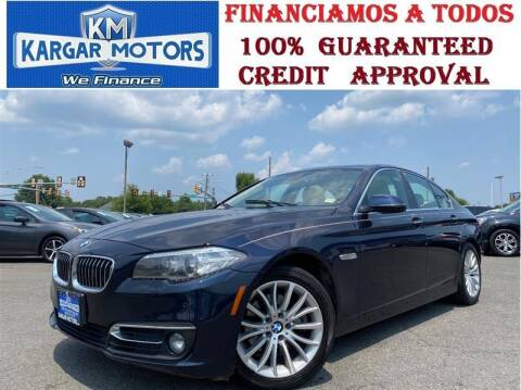 2014 BMW 5 Series for sale at Kargar Motors of Manassas in Manassas VA