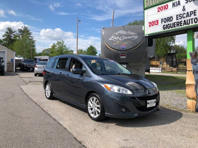 2012 Mazda MAZDA5 for sale at Giguere Auto Wholesalers in Tilton NH