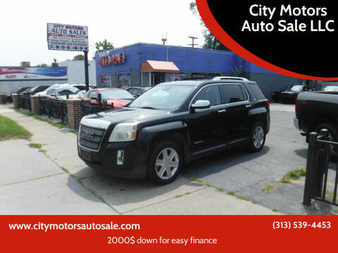 2011 GMC Terrain for sale at City Motors Auto Sale LLC in Redford MI