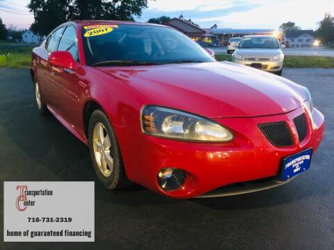 2007 Pontiac Grand Prix for sale at Transportation Center Of Western New York in Niagara Falls NY