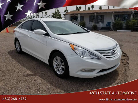 2013 Hyundai Sonata for sale at 48TH STATE AUTOMOTIVE in Mesa AZ