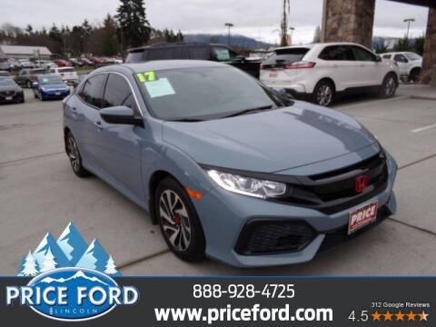2017 Honda Civic for sale at Price Ford Lincoln in Port Angeles WA