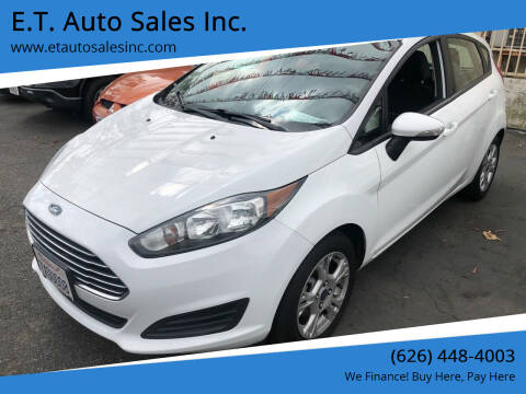 2014 Ford Fiesta for sale at E.T. Auto Sales Inc. in El Monte CA