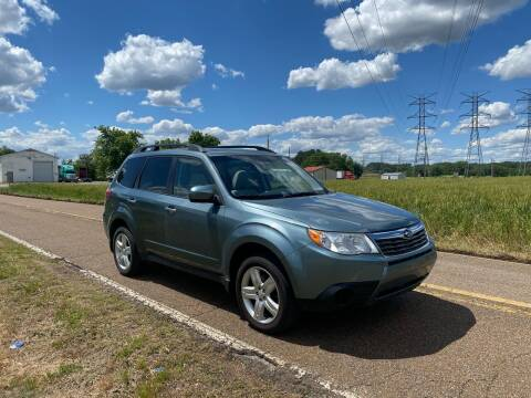 2009 Subaru Forester for sale at Tennessee Valley Wholesale Autos LLC in Huntsville AL