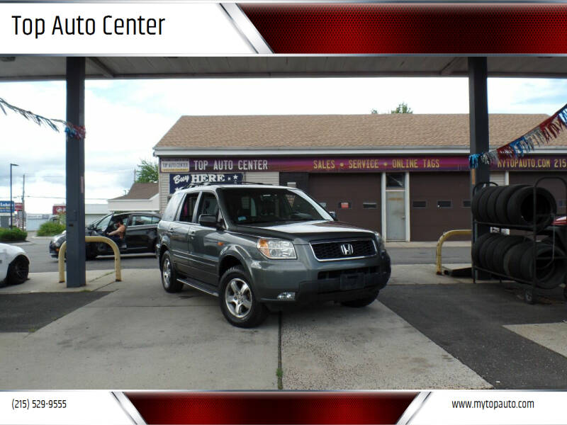 2007 Honda Pilot for sale at Top Auto Center in Quakertown PA