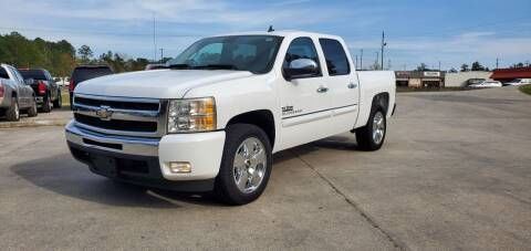 2011 Chevrolet Silverado 1500 for sale at WHOLESALE AUTO GROUP in Mobile AL