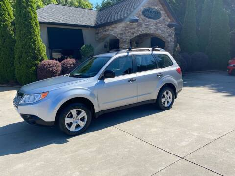 2012 Subaru Forester for sale at Hoyle Auto Sales in Taylorsville NC