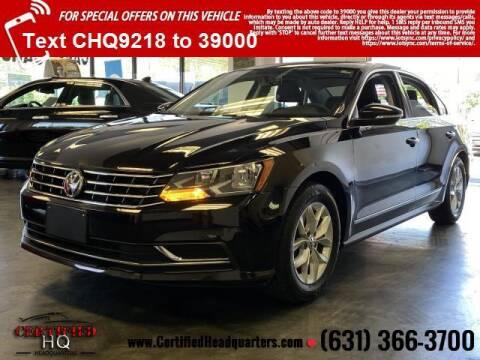 2017 Volkswagen Passat for sale at CERTIFIED HEADQUARTERS in Saint James NY