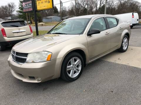 2008 Dodge Avenger for sale at Wise Investments Auto Sales in Sellersburg IN
