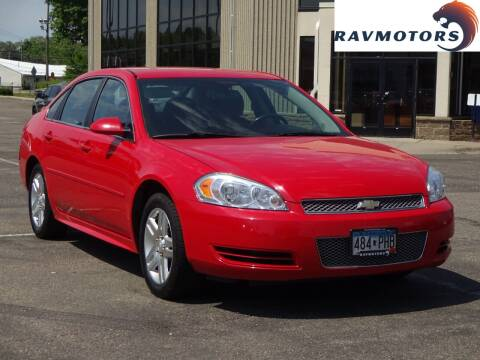 2013 Chevrolet Impala for sale at RAVMOTORS 2 in Crystal MN