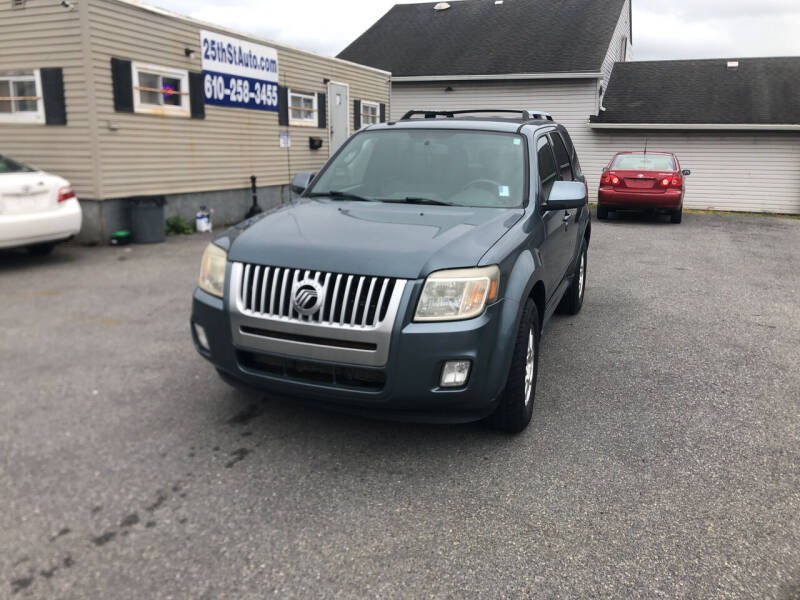 2010 Mercury Mariner for sale at 25TH STREET AUTO SALES in Easton PA