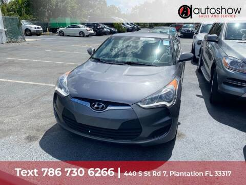 2016 Hyundai Veloster for sale at AUTOSHOW SALES & SERVICE in Plantation FL