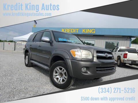 2007 Toyota Sequoia for sale at Kredit King Autos in Montgomery AL