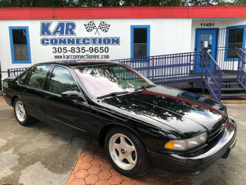 1996 Chevrolet Impala for sale at Kar Connection in Miami FL