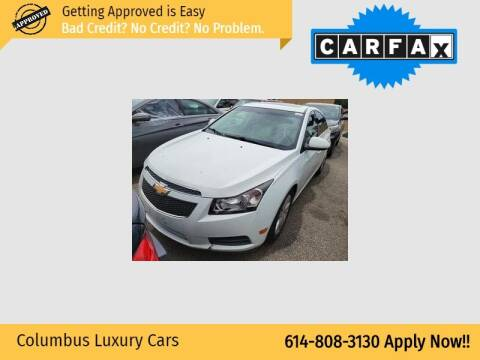 2014 Chevrolet Cruze for sale at Columbus Luxury Cars in Columbus OH