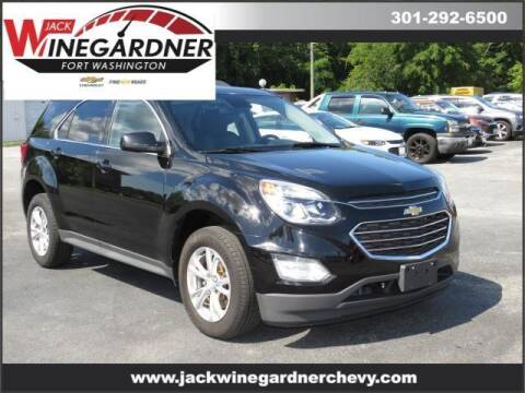 2017 Chevrolet Equinox for sale at Winegardner Auto Sales in Prince Frederick MD