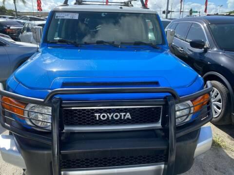 2007 Toyota FJ Cruiser for sale at America Auto Wholesale Inc in Miami FL
