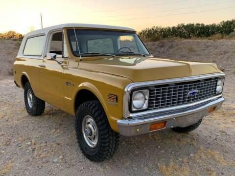 1972 Chevrolet Blazer for sale at Classic Car Deals in Cadillac MI