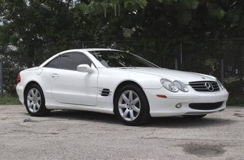 2003 Mercedes-Benz SL-Class for sale at No 1 Auto Sales in Hollywood FL