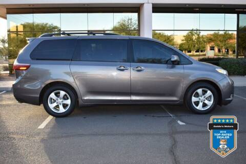 2015 Toyota Sienna for sale at GOLDIES MOTORS in Phoenix AZ