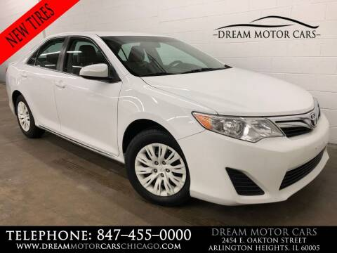 2014 Toyota Camry for sale at Dream Motor Cars in Arlington Heights IL